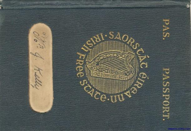 Паспорт Ирландии: 1925 год - обложка