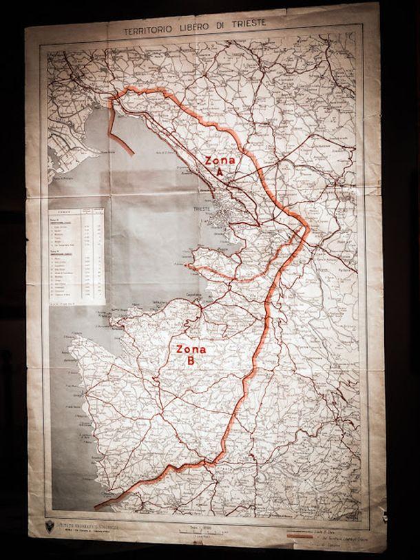 Свободная зона Триеста просуществовала с 1947 по 1954 год