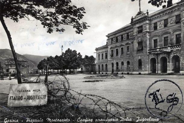 Граница разделила город Gorizia на полвека