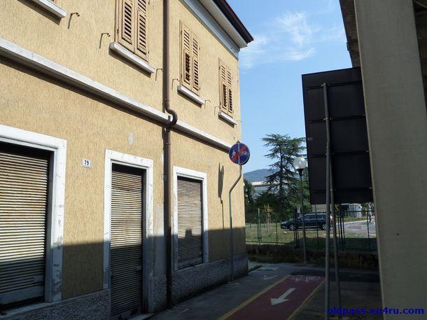 Этот итальянский дом стоит на самой границе Словении